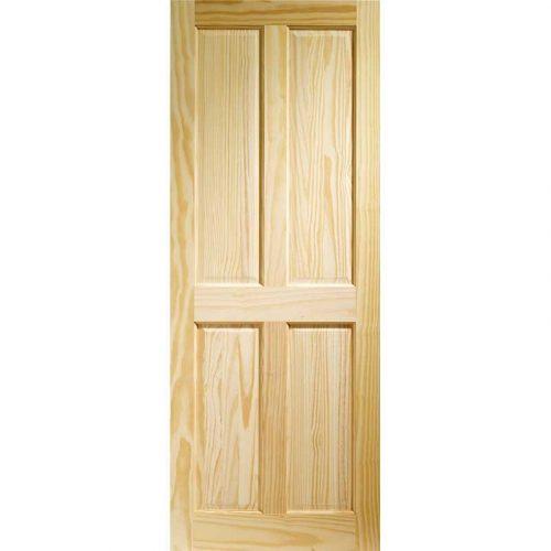 Victorian 4 Panel Internal Clear Pine Door