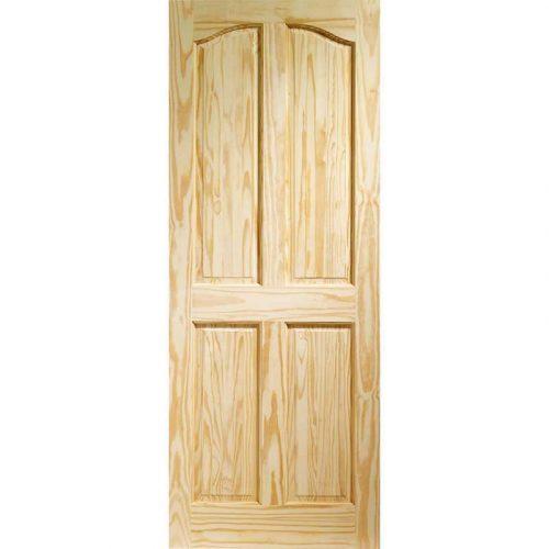 Rio 4 Panel Internal Clear Pine Door