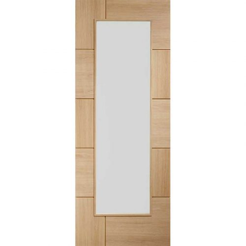 """Internal Oak Pre-Finished Ravenna with Clear Glass (33"""")"""