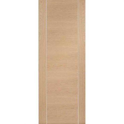 Internal Oak Pre-Finished Forli (Alum Inlay) (2040 x 726 x 40mm)