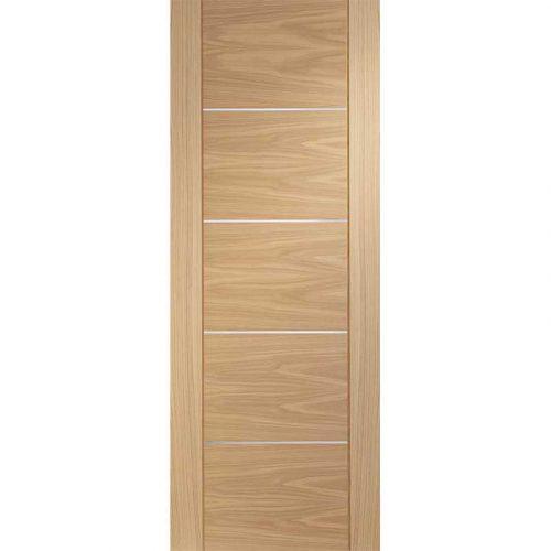 """Internal Oak Pre-finished Portici Fire Door (27"""")"""