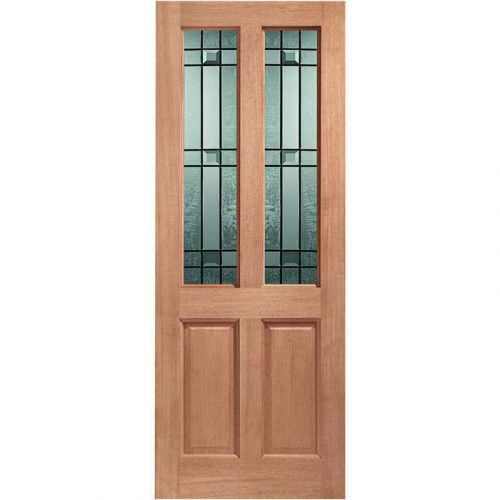 Malton Double Glazed External Hardwood Door (M&T) with Drydon Glass