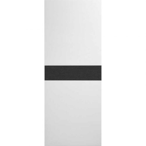 Pre-Finished White / Grey Asti Fire Door