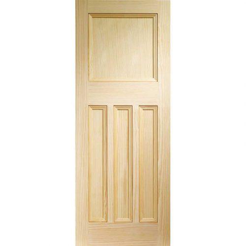 Vine DX Internal Vertical Grain Clear Pine Door