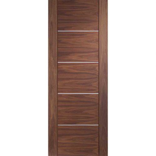 """Internal Walnut Pre-finished Portici Fire Door (27"""")"""