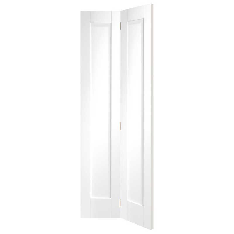 Pattern 10 Internal White Primed Bi-Fold Door