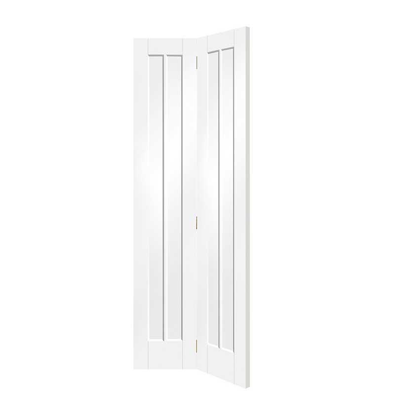 Worcester Internal White Primed Bi-Fold Door