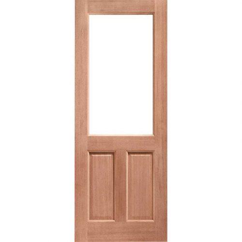 2XG Unglazed External Hardwood Door (Dowelled)