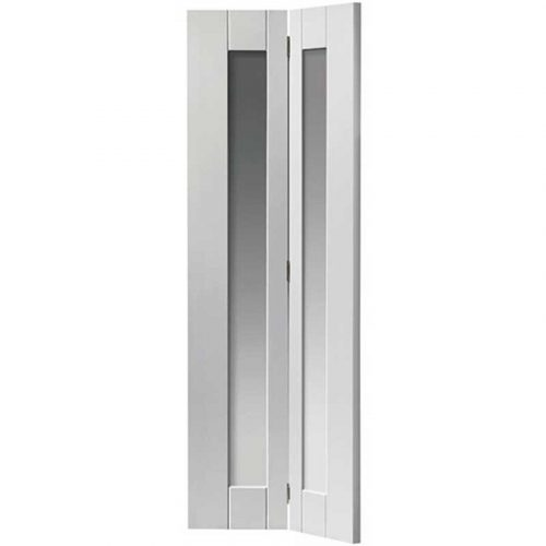 Axis White Glazed Bi-fold