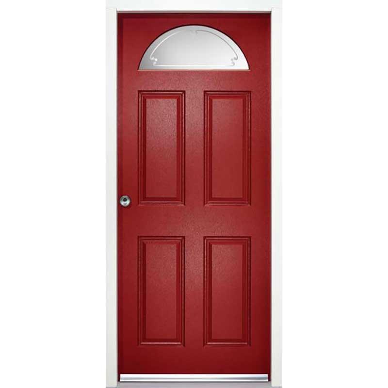 CAROLINA ENDURADOOR RANGE / External Enduradoor Doorset Carolina Glazed Prefinished