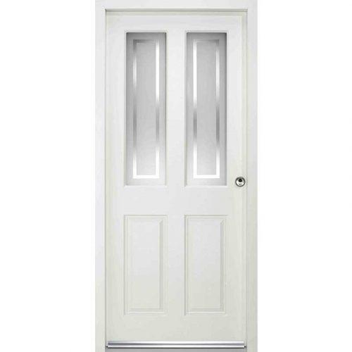 MALTON ENDURADOOR RANGE / External Enduradoor Doorset Malton With Frosted Glass Prefinished