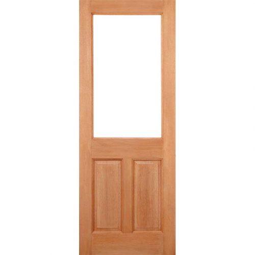 2XG 2 Panel Dowel Unglazed External Door
