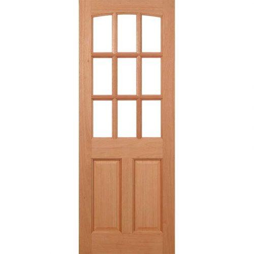 Georgia Dowel Unglazed External Door
