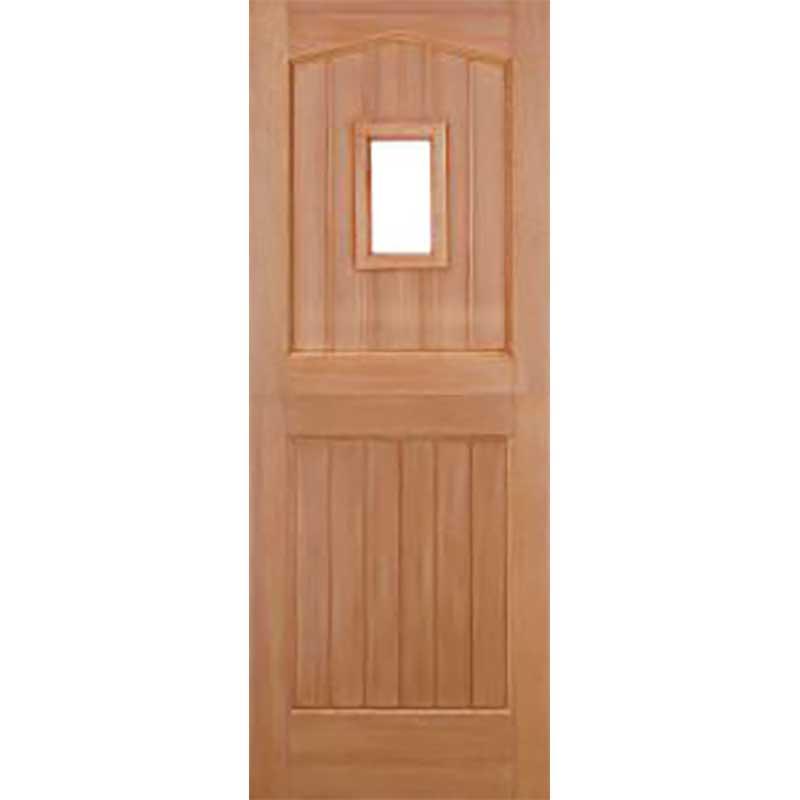 Stable 1L Dowel Unglazed External Door