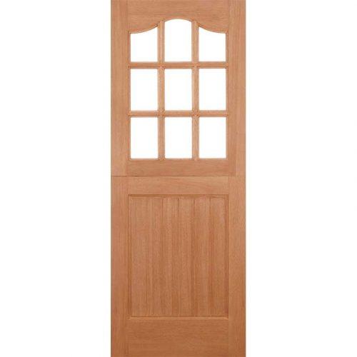 Stable 9L Dowel Unglazed External Door