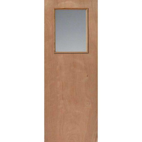 Flush For Paint Kigog Internal Glazed Fire Door