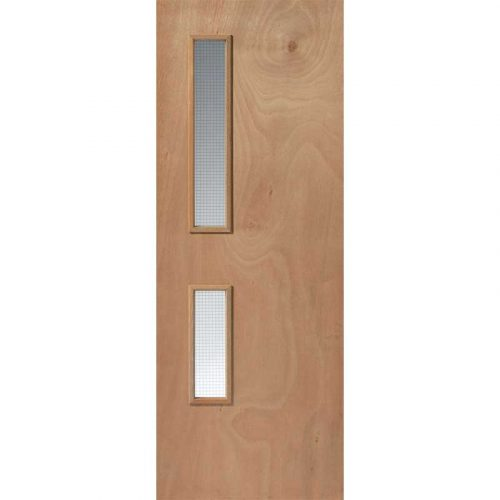 Flush For Paint Kintt Internal Glazed Fire Door