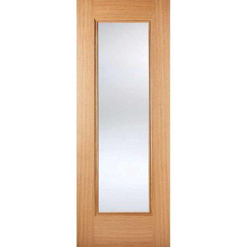 Pre Finished Oak Internal Eindhoven 1L Glazed Door