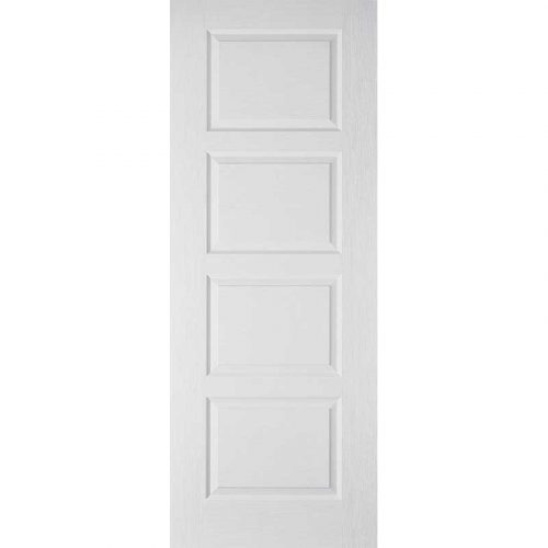 WHITE MOULDED CONTEMPORARY 4P