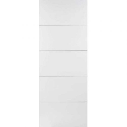 WHITE MOULDED HORIZONTAL FOUR LINE