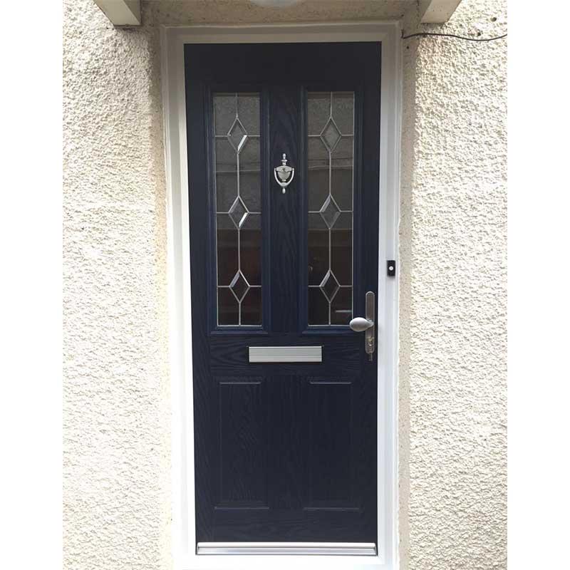 Blue Carnoustie Traditional Composite Door