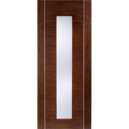 Alcaraz Walnut Glazed Door