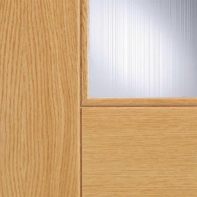 Catalonia Glazed Prefinished Oak Internal Door