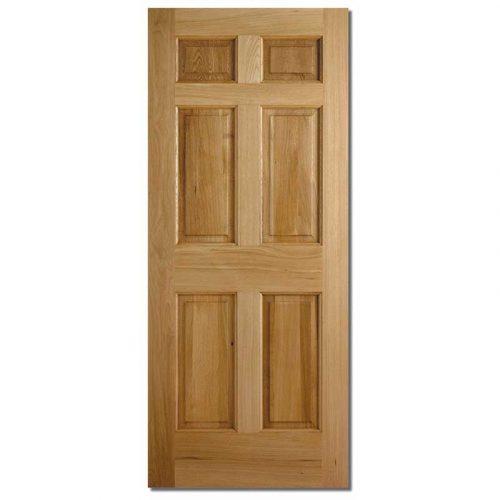 Colonial 6P Oak External Door