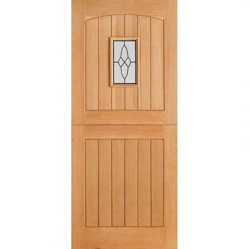 Cottage Stable 1L External Door Oak