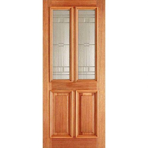 Derby Elegant Hardwood External Door
