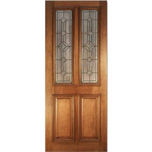 Derby Leaded Hardwood External Door