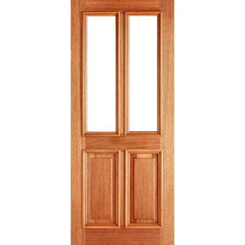 Derby Unglazed Hardwood External Door
