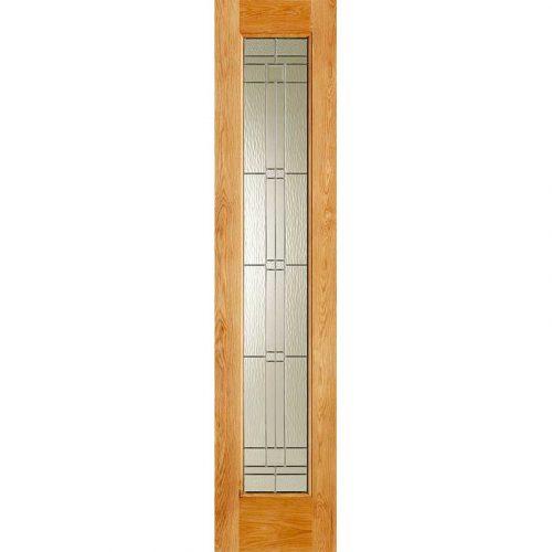 Elegant Oak External Side Light