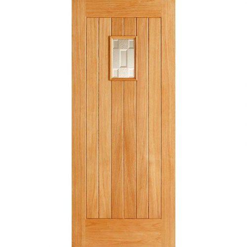 Suffolk Double Glazed External Oak Door