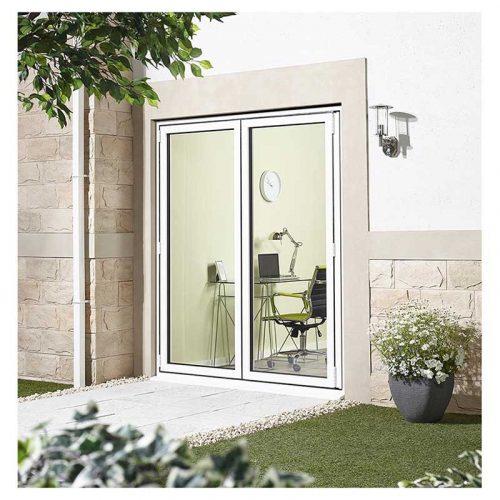 6' White Right Folding Doorset Double Glazed Units External Door