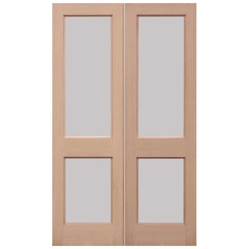 2XGG Pairs Unglazed External Door