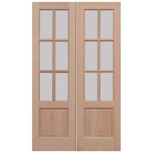 GTP 2P Pairs Unglazed External Door