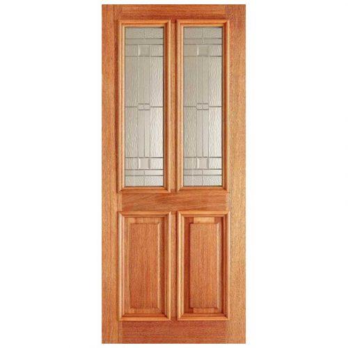 Derby Elegant Zinc Double Glazed External Door
