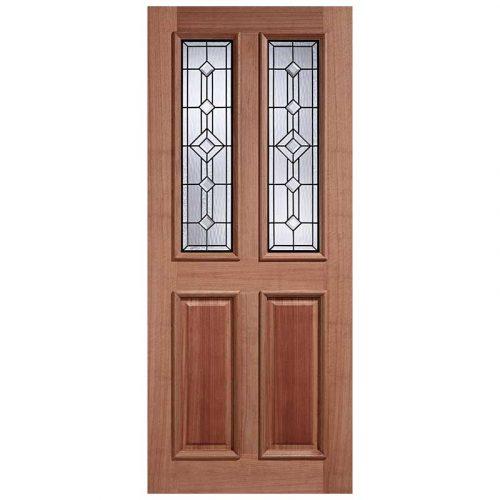 Derby Leaded Lead Double Glazed External Door