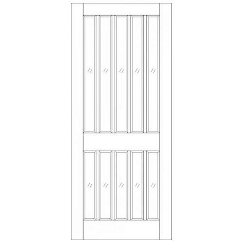 Windsor M&T Unglazed External Door