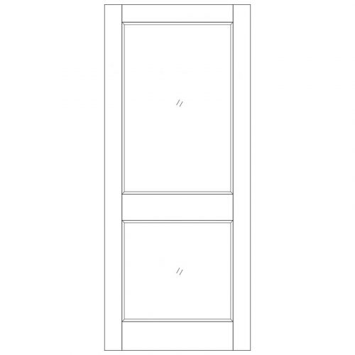 2XGG M&T Unglazed External Door