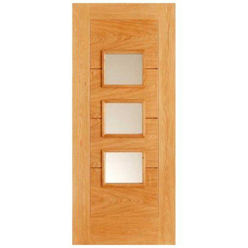 Arta Frosted Double Glazed External Door