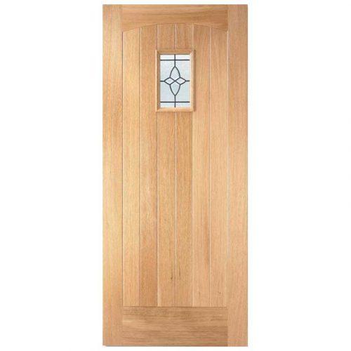 Cottage Lead Double Glazed External Door