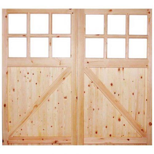 Single Glazed Garage Door External Door