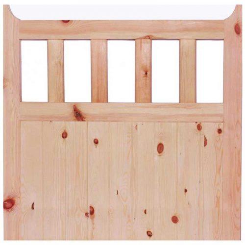 600 Gate External Door