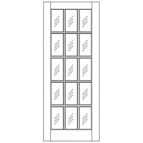 SA  Unglazed External Door
