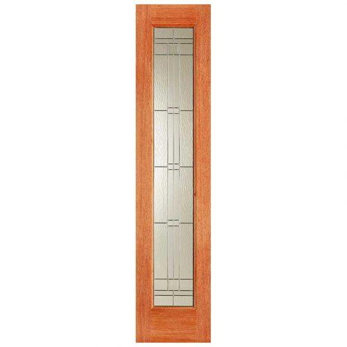 Elegant Sidelight Zinc Double Glazed External Door
