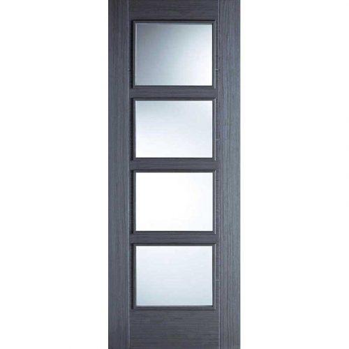 Vancouver 4L Chocolate Grey Internal Door