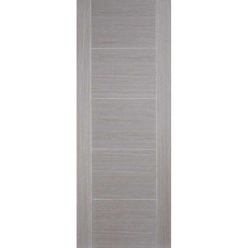 Vancouver 5 Panel Light Grey Solid Internal Door
