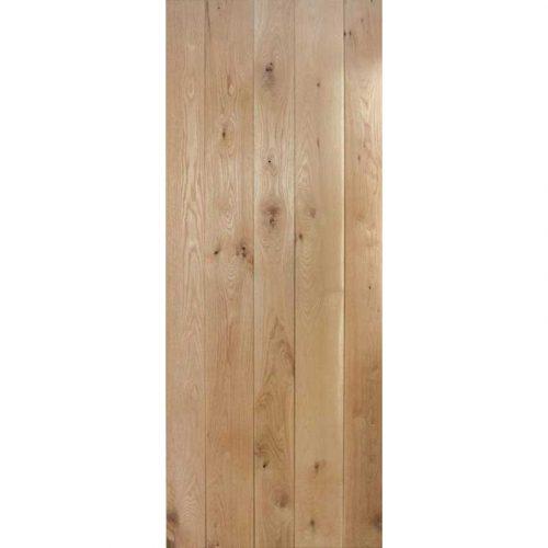 Nostalgia Solid Rustic Oak Framed & Ledged Internal Door